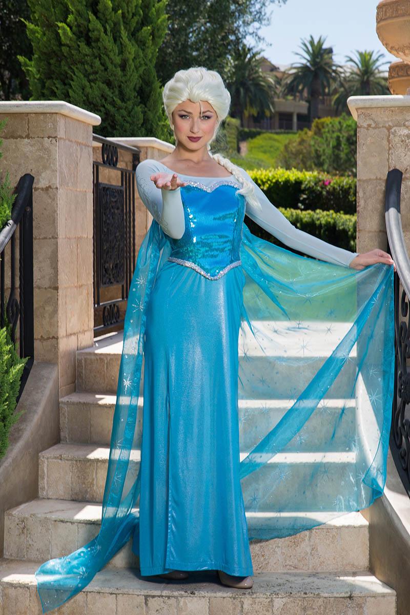 Frozen elsa party character for kids in houston